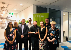 Westcon Recognised as Distributor of the Year by Juniper Networks