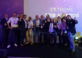 Winner of the Extreme Networks global distributor of the year