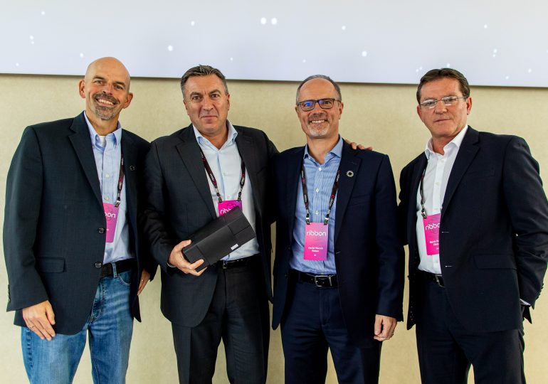 Westcon Awarded Ribbon Communications Distributor of the Year for 2019
