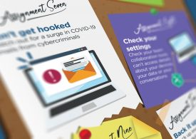 Cyber homework for the home worker – infographic