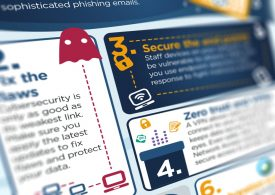 Seven tips for securing home workers – infographic