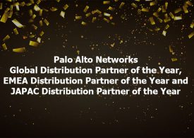 Westcon-Comstor awarded three Palo Alto Networks Distribution Partner of the Year awards