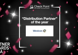 Check Point UK Distributor of the Year award for UK&I