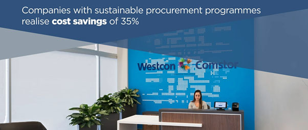Organisations with mature sustainable procurement programmes report cost savings of 35%.